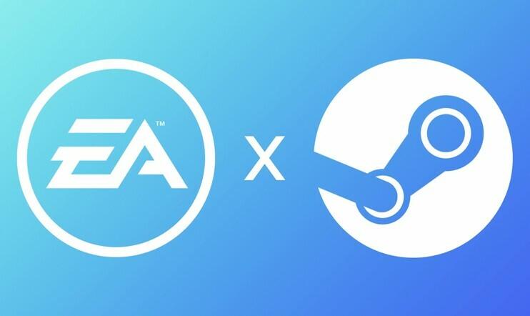 ea, Steam, Electronic Arts, Apex Legends, Star Wars: Jedi Fallen Order, Origin, The Sims 4,