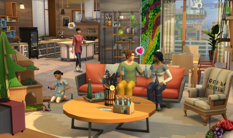 Eco lifestyle, The Sims, The Sims 4, julkaisupäivä, ea, Maxis