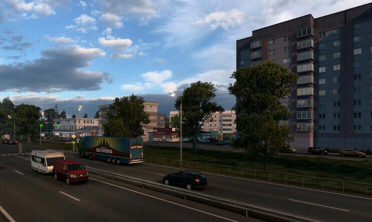 Venäjä, Euro Truck Simulator 2, heart of russia, SCS Software, laajennus, dlc, lisäsisältö