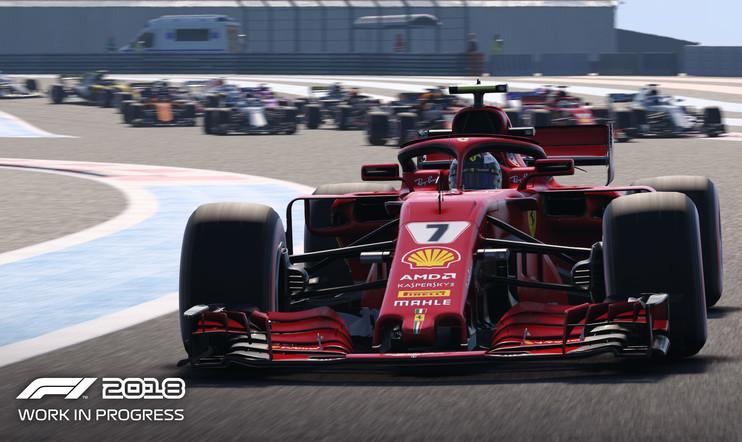F1 2018 Kimi Räikkönen