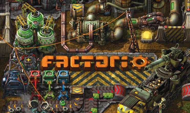 Factorio, Wube Software, julkaisupäivä, 25. syyskuuta, 2020, simulaatio