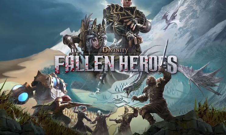 Divinity: Fallen Heroes, Divinity, Larian Studios, roolipeli, XCOM