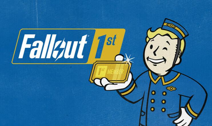 Fallout, Fallout 76 , Fallout 1st, Bethesda, jäsenyys, pelipalvelu