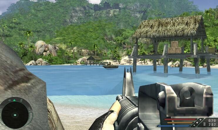 Retrostelu, Far Cry, Crytek, Far Cry 1