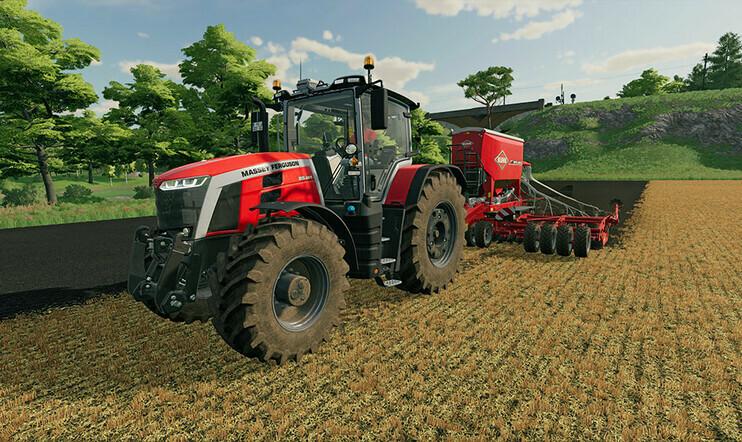 Farming Simulator, Farming Simulator 22, Giants Software, maatalous, simulaatio, julkaisupäivä,