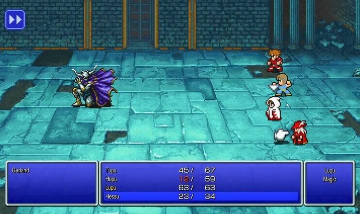 Final Fantasy Pixel Remaster – pikselintarkkaa remasterointia?