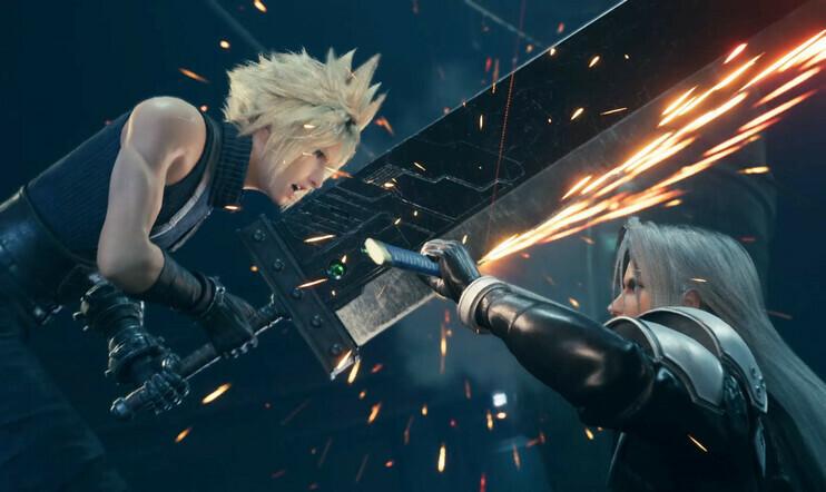 Final Fantasy VII, Final Fantasy VII Remake, Jenova, Hojo, Red XIII, traileri