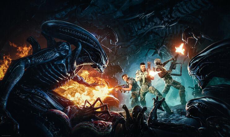 Aliens, Alien, Aliens: Fireteam, Fireteam, 2021, Cold iron Studio, coop, yhteistyö