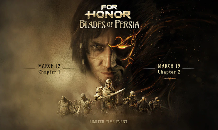 Prince of Persia, For Honor, Ubisoft, Blades of Persia,
