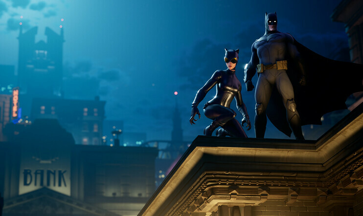 Fortnite, Batman, Epic Games, Epic Games,