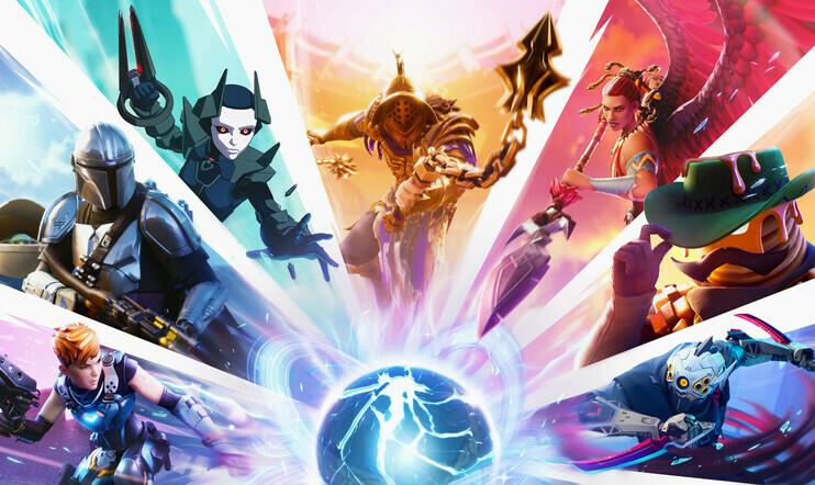 Fortnite, Zero Point, Mandalorian, Galactus, marvel, Epic Games, season 5, Fortnite Chapter 2, battle royale,