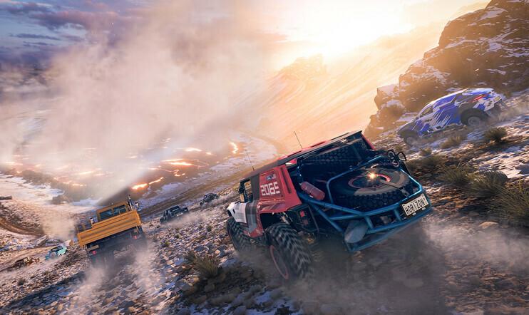 Forza Horizon, Forza Horizon 5, biomi, ympäristöt, Playground Games, Microsoft, Xbox ajopeli,