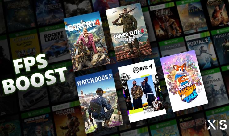 FPS Boost, Xbox Series, xbox, Xbox Series X, Xbox Series S, Microsoft, taaksepäin yhteensopivuus