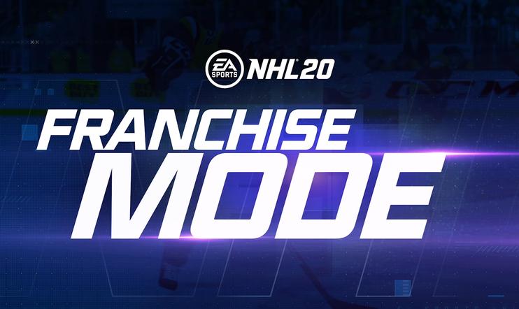NHL 20, NHL, urheilu, lätkäpeli, jääkiekko, lätkä, jääkiekkopeli, EA Sports, EA,Franchise,