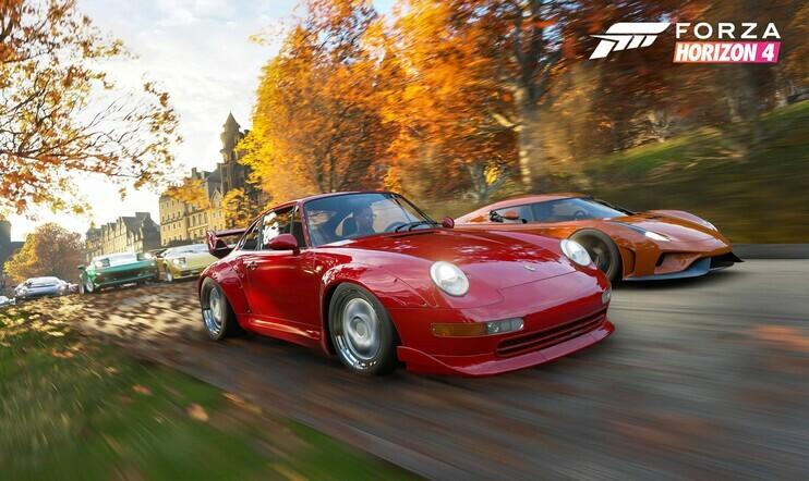 Forza Horizon 4, Playground Games, Forza