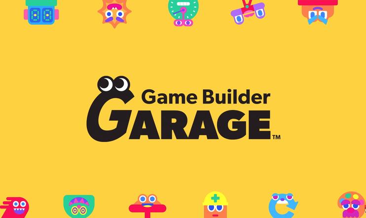 Nintendo, switch, game builder garage, pelinkehitys, uusi peli, julkaisu