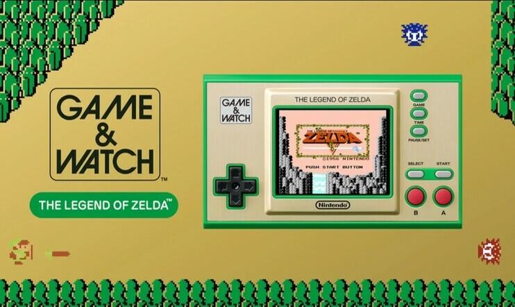 Nintendo jatkaa klassista laitesarjaansa – Game & Watch: The Legend of Zelda sisältää kolme klassista Zelda-peliä