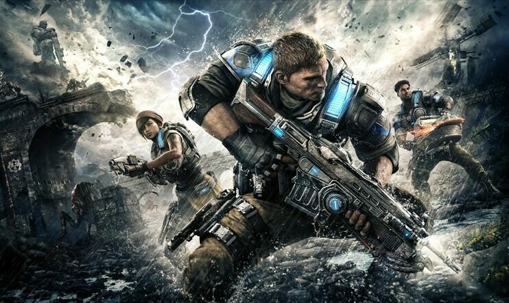 Gears of War, Gears 4, Gears of War 4, Games with Gold, xbox, Xbox One, xbox 360, Xbox Live, palvelu, elokuu, 2019
