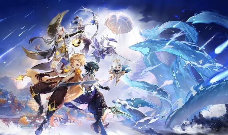 Genshin Impact, PS5, toimintaroolipeli, free to play, ilmainen, ARPG, Mihoyo