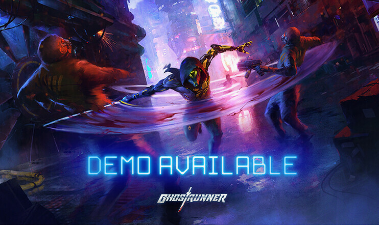 Ghostrunner, One More Level, demo, kyberpunk