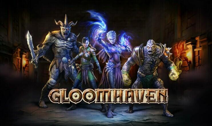 Gloomhaven, asmodee digital, julkaisupäivä, lautapeli, early access,