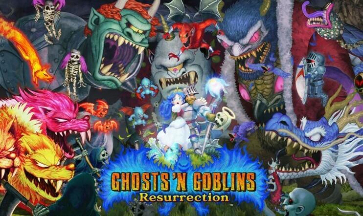 Ghosts n Goblins, Capcom, Capcom Arcade Stadium, Ghosts n Goblins Resurrection