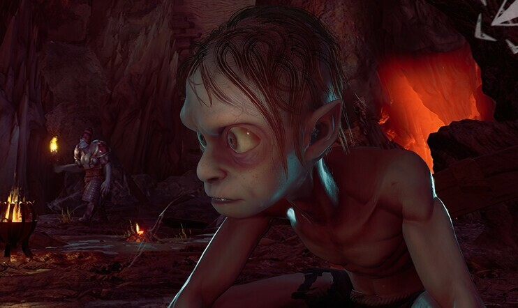 Lord of the Rings, Gollum, Lord of the Rings: Gollum, kuvakaappaus, Daedalic Entertainment