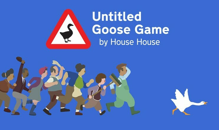 Untitled Goose Game, House House