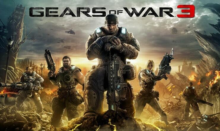Gears of War 3, Epic Games, Gears of War
