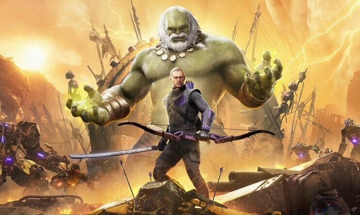 Square Enix, Marvel's Avengers, Avengers, Marvel, PS5, Xbox Series, Crystal Dynamics, Eidos Montreal, Hawkeye, Haukansilmä, Future Imperfect,