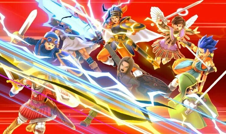 Super Smash Bros. Ultimate, nintendo, Hero, Dragon Quest, Dragon Quest XI, Super Smash Bros., päivitys, 4.00, DLC