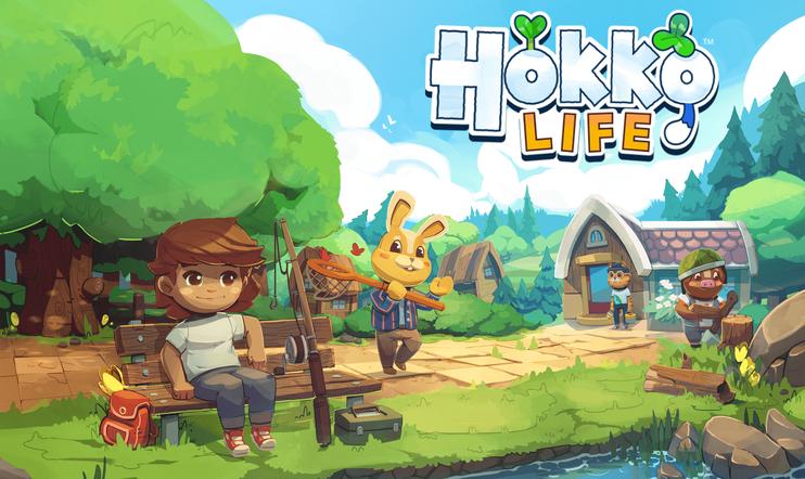 Hokko Life, Animal Crossing, pc, Team17, Wonderscope Games,