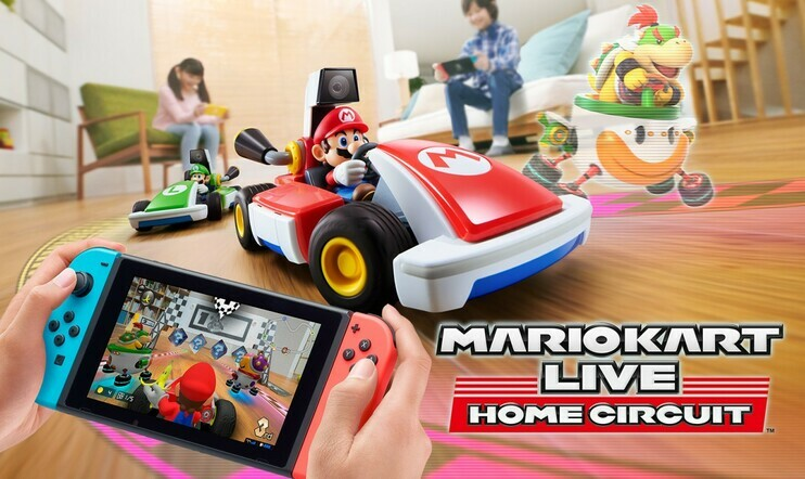 Mario Kart Live: Home Circuit, Mario Kart, Switch, Nintendo,