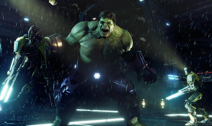 Marvel, Avengers, Marvel's Avengers, laitevaatimus, laitevaatimukset, square enix, Crystal Dynamics