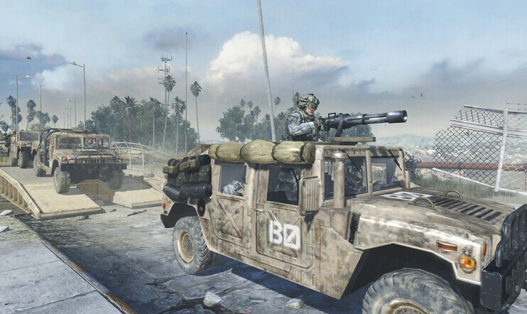 Call of Duty, Humvee, AM General, sotilasajoneuvo, hummer, Activision, Activison Blizzard, oikeus,