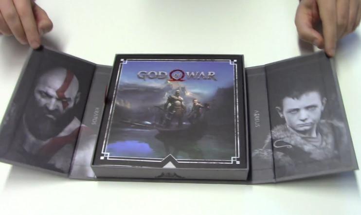 Avataan laatikko: Kurkistus tulevan PS4-suurpelin God of Warin harvinaisimpaan versioon