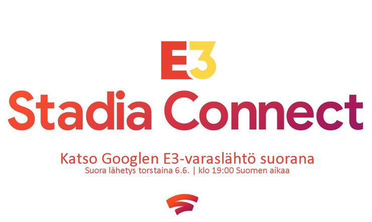E3 2019: Google Stadia Connect -lähetys
