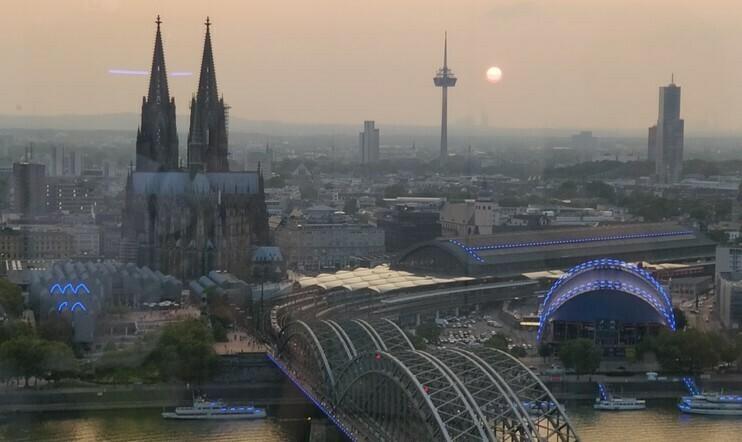 Gamescomin kotikaupunki Köln. Kuva: Ville Arvekari