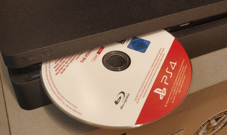 PS4 Disc Drive