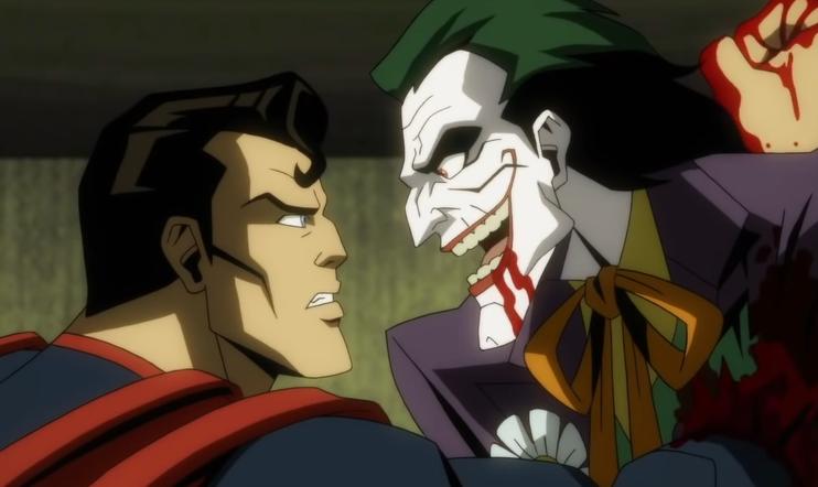 Injustice, elokuva, DC, animaatioelokuva, Teräsmies, Superman, Jokeri, batman, lepakkomies, Netherrealm Studios, taistelu,