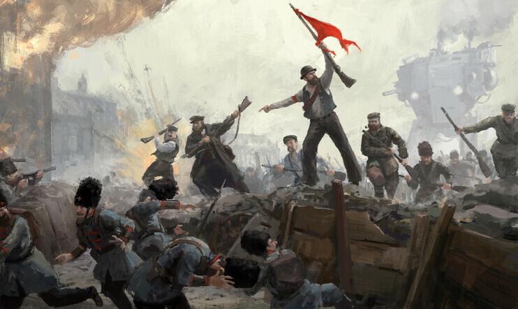 iron harvest, Rusviet Revolution, DLC, Strategia