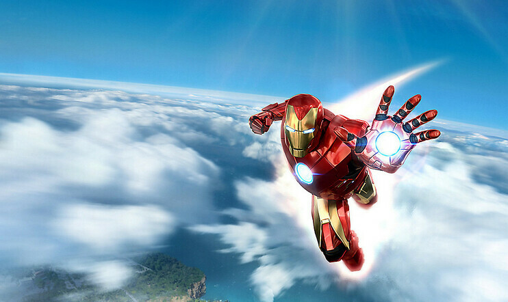 Iron Man VR, Iron Man, VR, PSVR, demo