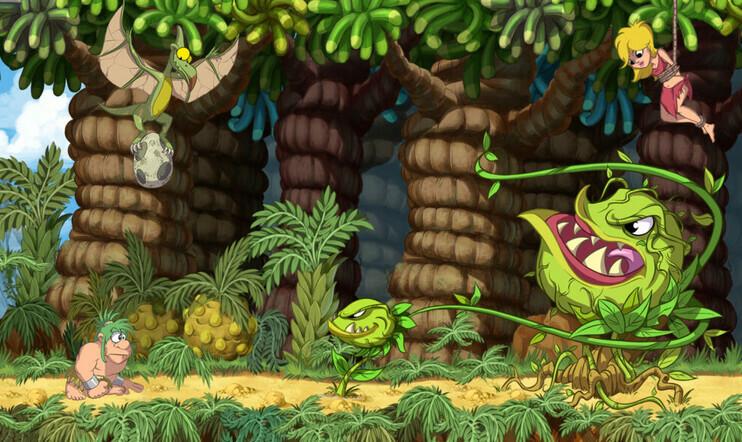 Joe & Mac: Caveman Ninja,  Microids, Mr. Nutz Studios