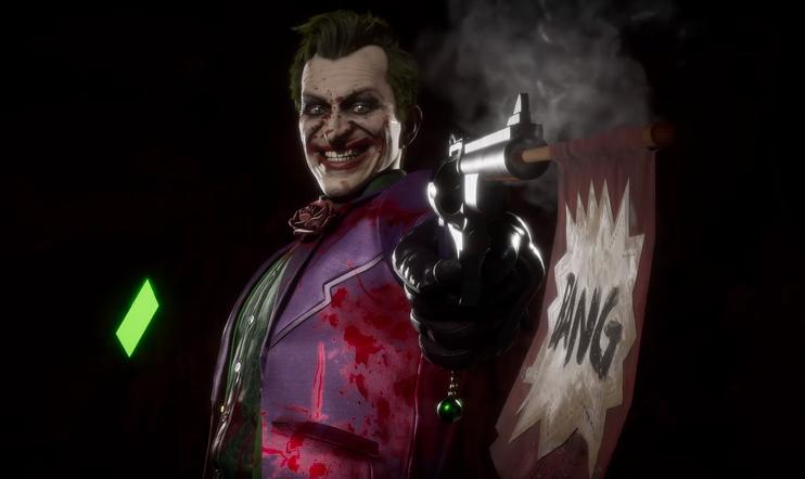 Jokeri, Mortal Kombat, Mortal Kombat 11, taistelu,
