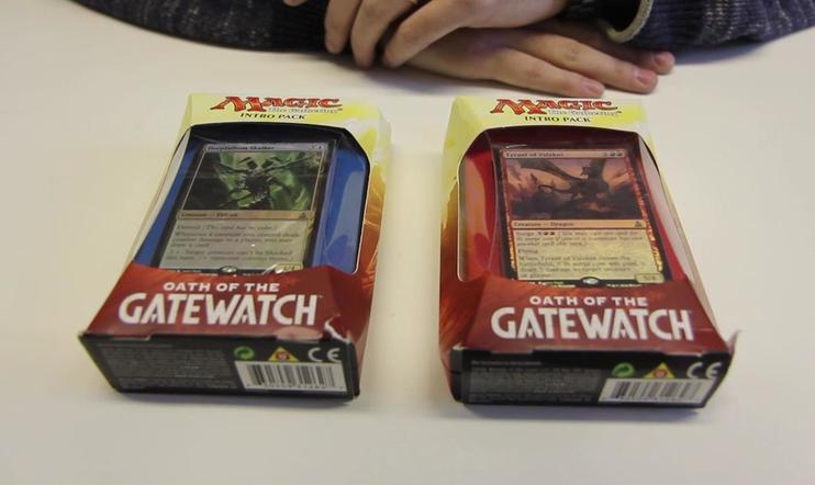 PelaajaHD unboxaa - Magic: Oath of the Gatewatch