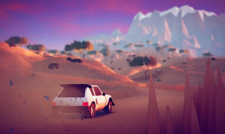 Art of Rally, PlayStation, ajopeli, ajopeli