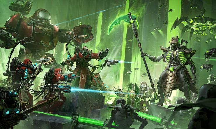 Warhammer 40,000: Mechanicus, konsoli, 2020, Warhammer, Warhammer 40.000, strategia, Bulwark Studios,  Kasedo Games