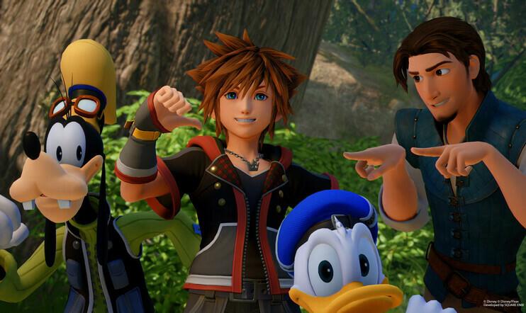 Kingdom Hearts -saaga saapuu Switchille suoratoistoversiona