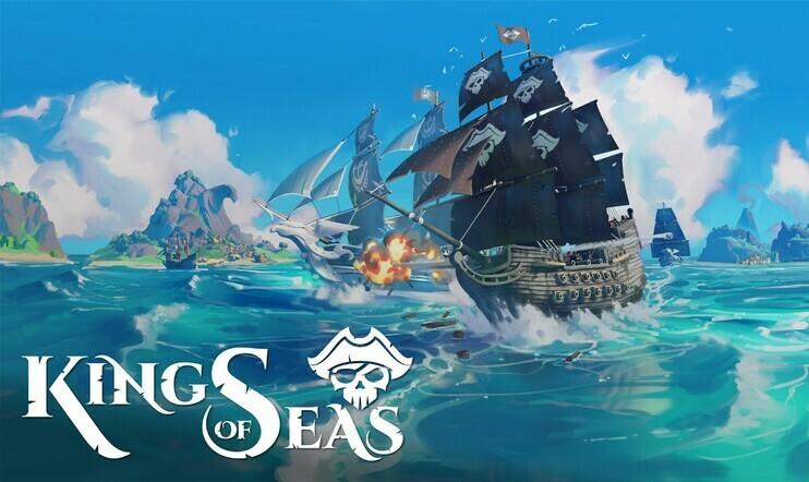 King of Seas, Team17, 3DClouds, julkaisupäivä, merirosvo, piraatti,