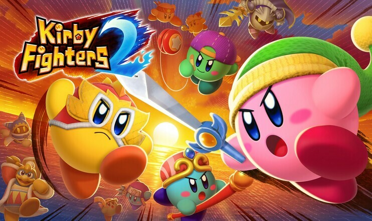 Kirby, Kirby Fighters, Kirby Fighters 2, Nintendo, HAL, HAL Laboratory, Switch, taistelu